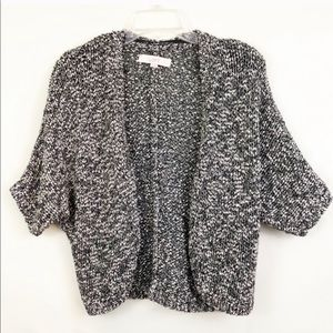 LOFT Chunky Knit Short Sleeve Shrug Size XS
